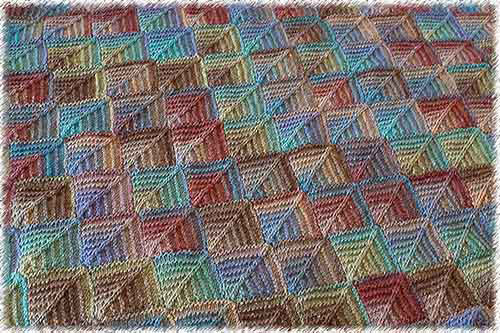 Free Knitting Pattern Mitered Afghan : MITERED KNITTING PATTERNS   Browse Patterns