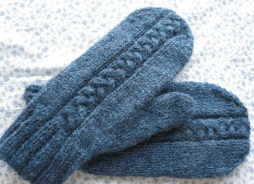 Easy Mitten Knitting Pattern Free : Mitten Knit Patterns   Browse Patterns