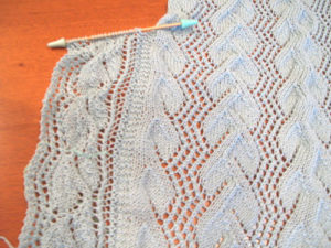 Shawl-Border-Started