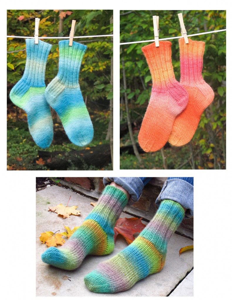 Over 500 Free Sock Knitting Patterns at AllCrafts.net - Free