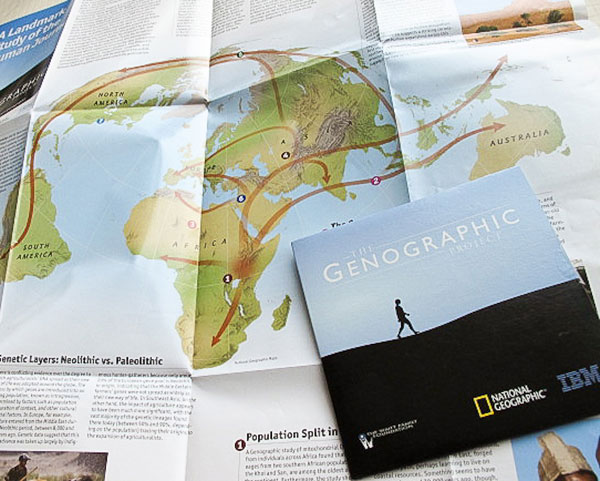 National Geographic, Genographic Project, DNA, human migration