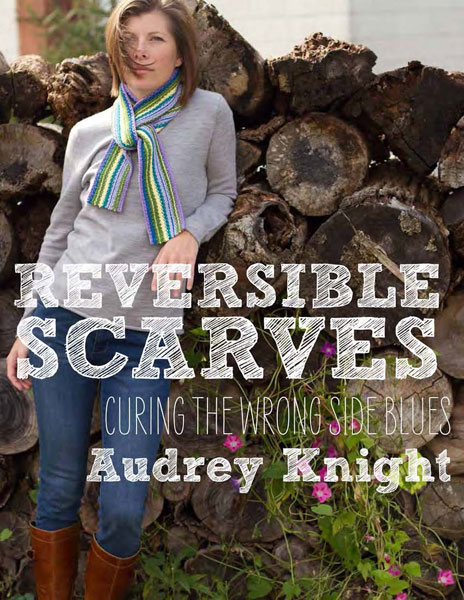 Reversible Scarves, knitting patterns, how to knit, Cooperative Press