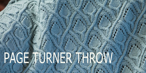 knitting pattern, Quince &amp; Co, Lark, throw pattern