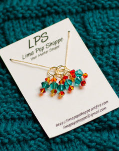 giveaway, drawing, blogiversary, stitch markers, Lima Pop Shoppe