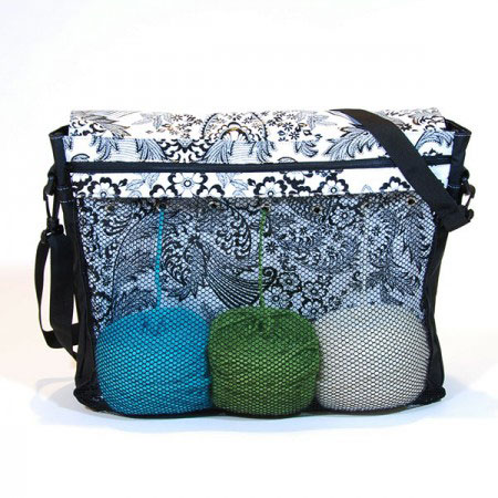 Chick-a Knittenger bag