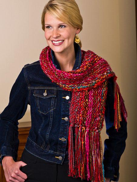 reversible scarf, Feza