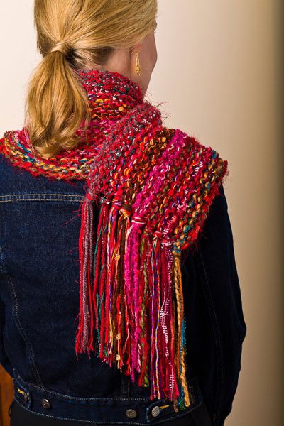 "AudKnits ""Verticality"" Scarf"