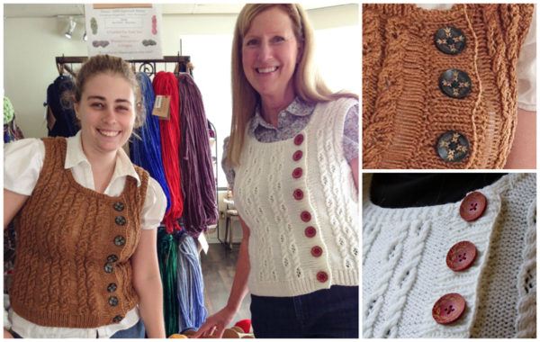 knitting, vest, Harry Potter knitting, Heliopath Vest