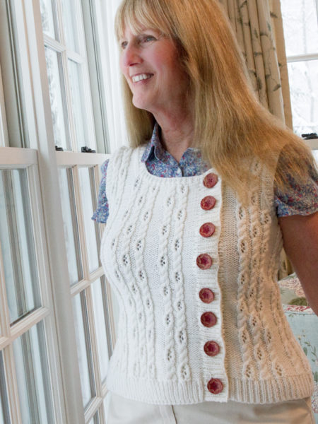 Heliopath Vest, Harry Potter Knits