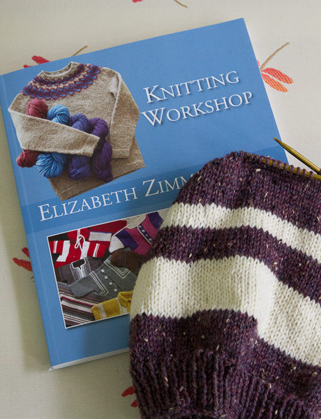 Elizabeth Zimmerman, knitting camp