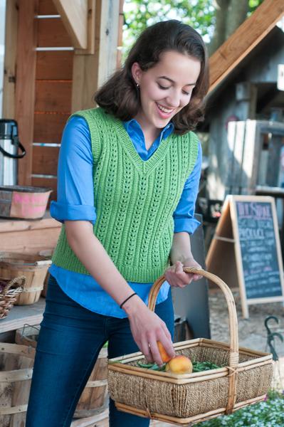 Lucy Vest Knit Picks