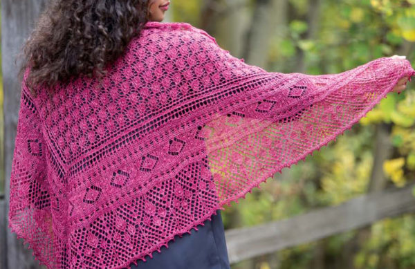 New Lace Knitting shawl