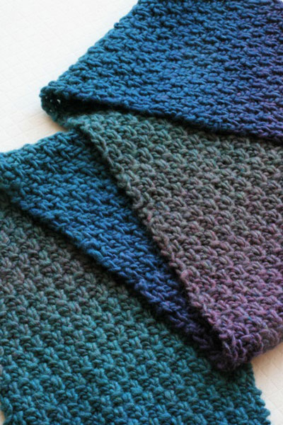 Gentle Stripes Scarf FREE Knitting Pattern   Audknits