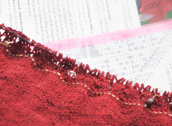 Ishbel, Ysolda Teague, shawl, Swans Island, charts, how to knit
