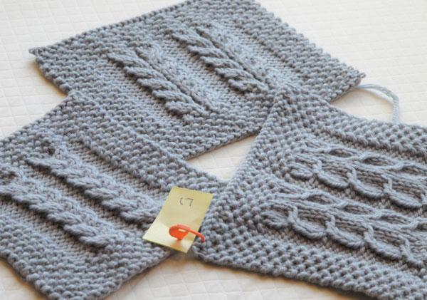 TKGA Hand Knitting Program, cables, TKGA