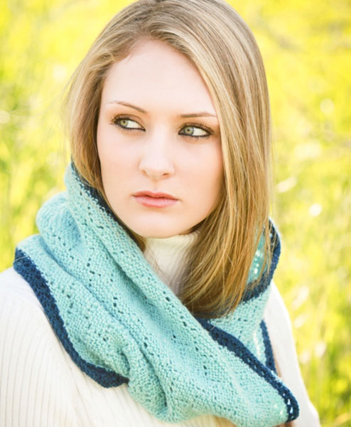 scarf, Moebius, reversible