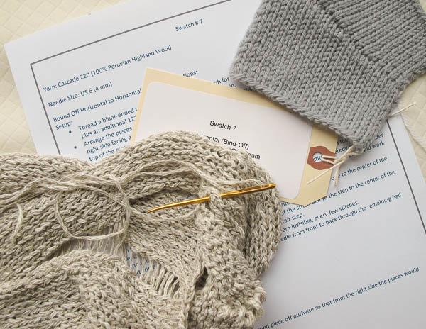Knitting and seaming