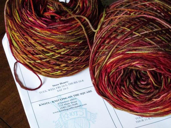 Dream in Color yarn, Smooshy