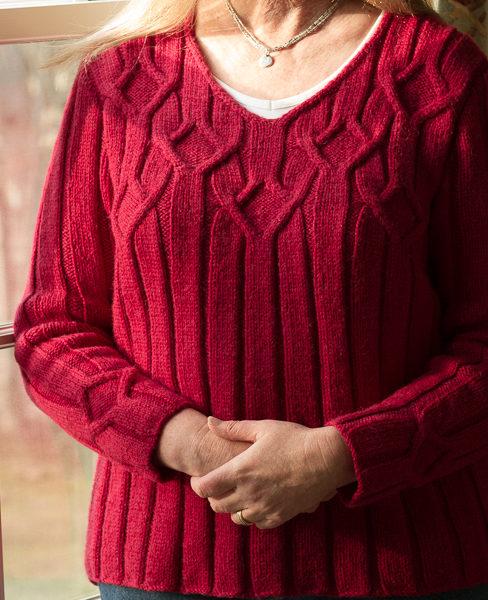 Knitting Mork sweater