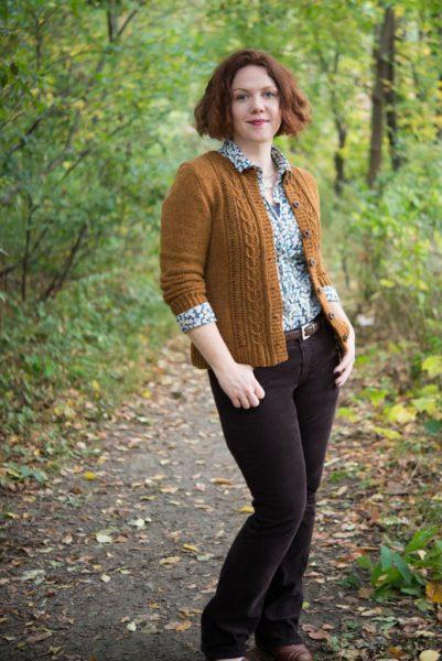 Acorn Trail pattern by Amy Herzog