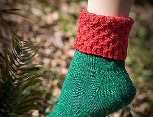 Christmas Smock Top Socks