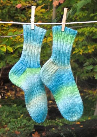 Cushy Chroma Socks