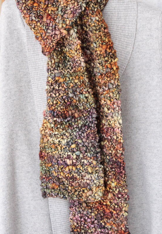 knitting reversible scarf