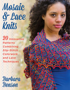 mosaic and lace knitting book cover