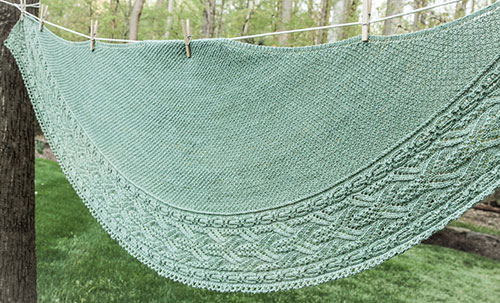 Ripplerock Shawl Crescent