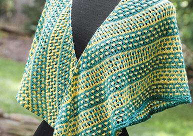 Love Child shawl front