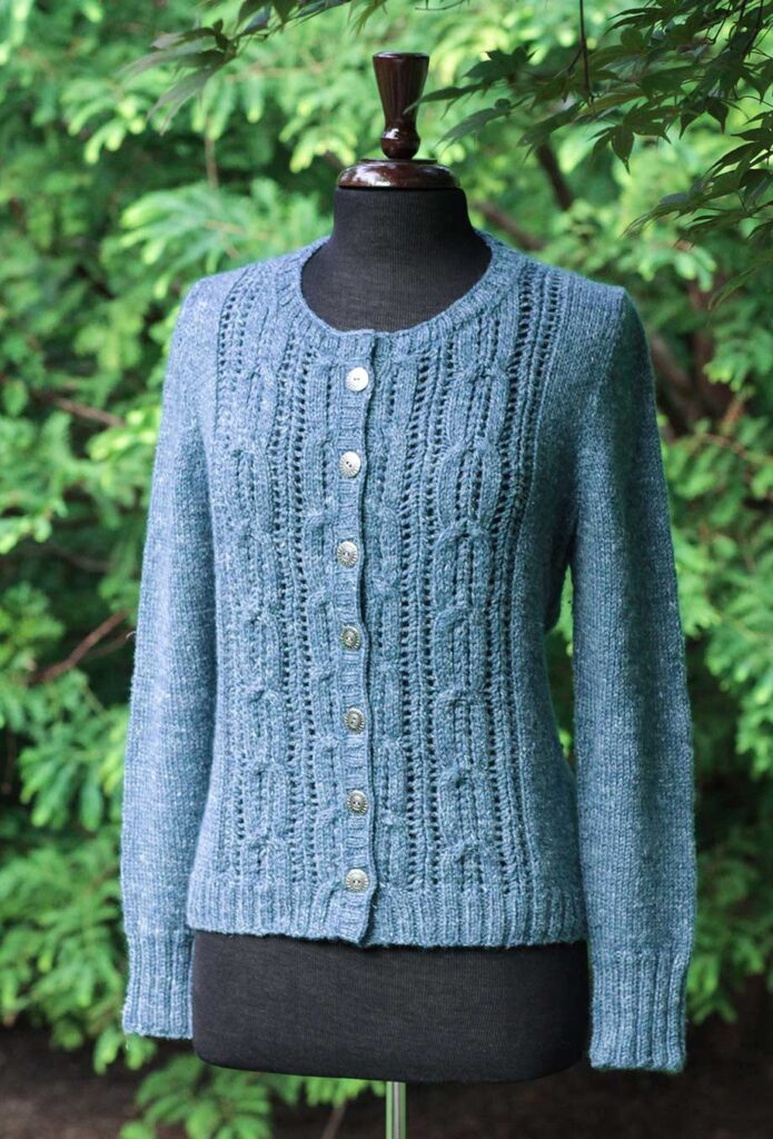 Acer Cardigan Front shaping
