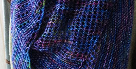 Antarktis shawl 1