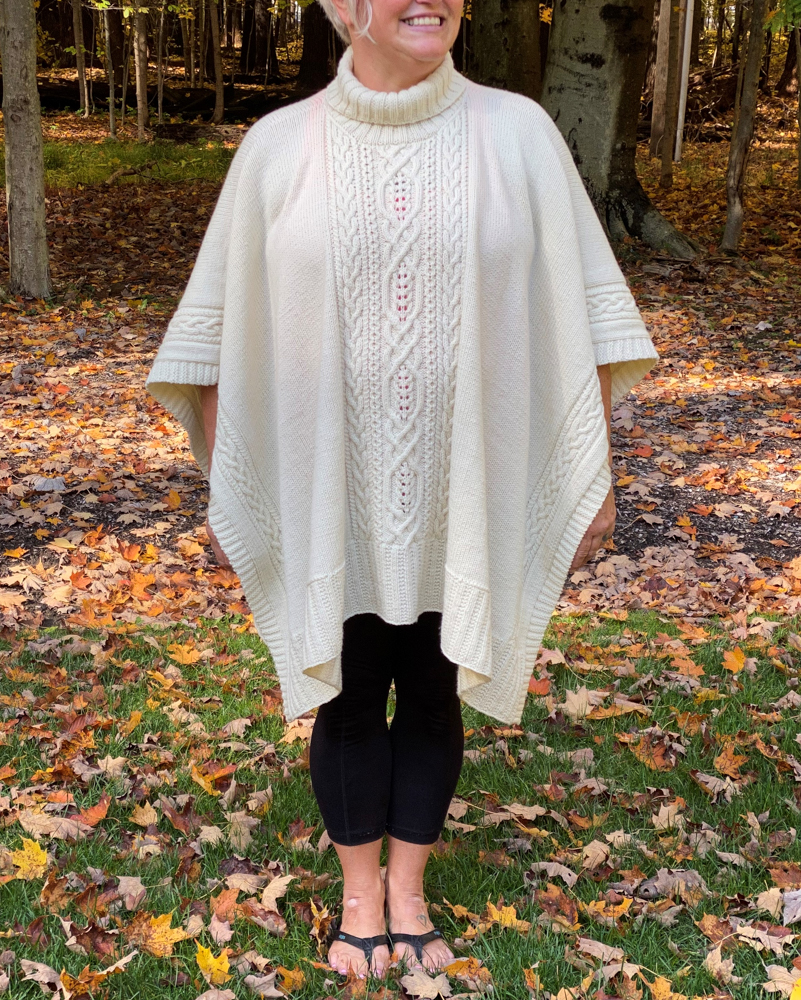 Inishmore Poncho Front
